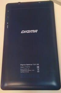 Digma Optima 7.21Gsm-obzor.ru