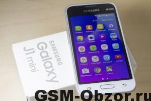 Samsung Galaxy J1 miniGsm-obzor.ru