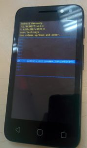 Hard Reset Alcatel 4034D (Pixi 4)