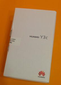 Коробка Huawei Y3C